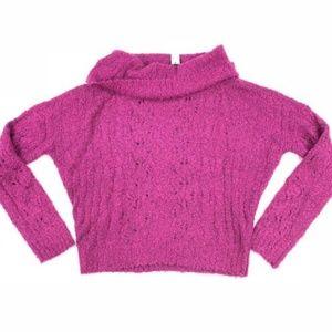Sanctuary Cowl Neck Sweater Knit XL Long Sleeve